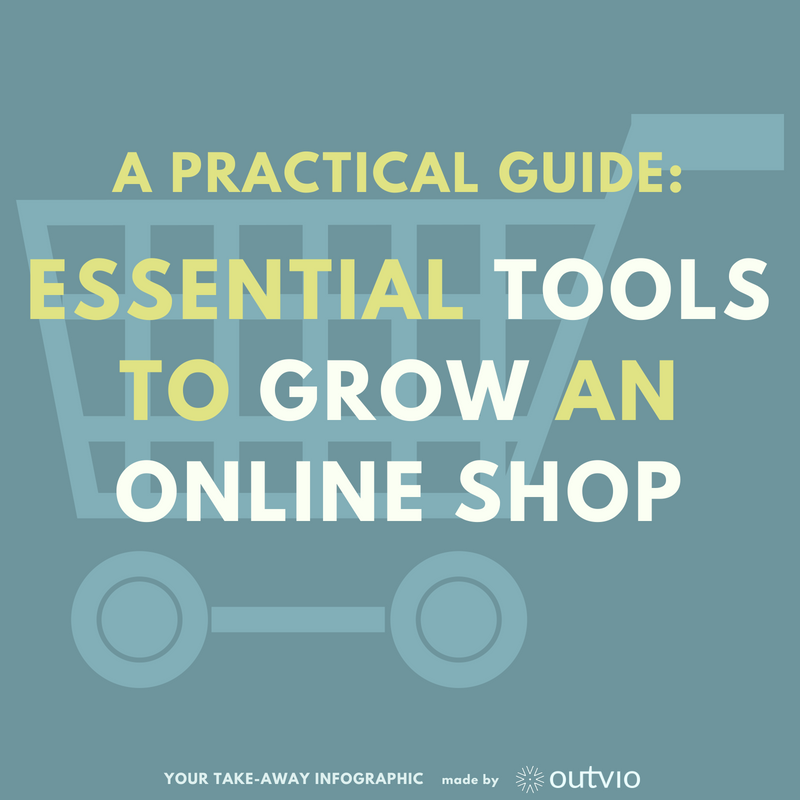 5 step practical guide: essential tools to grow your online shop.