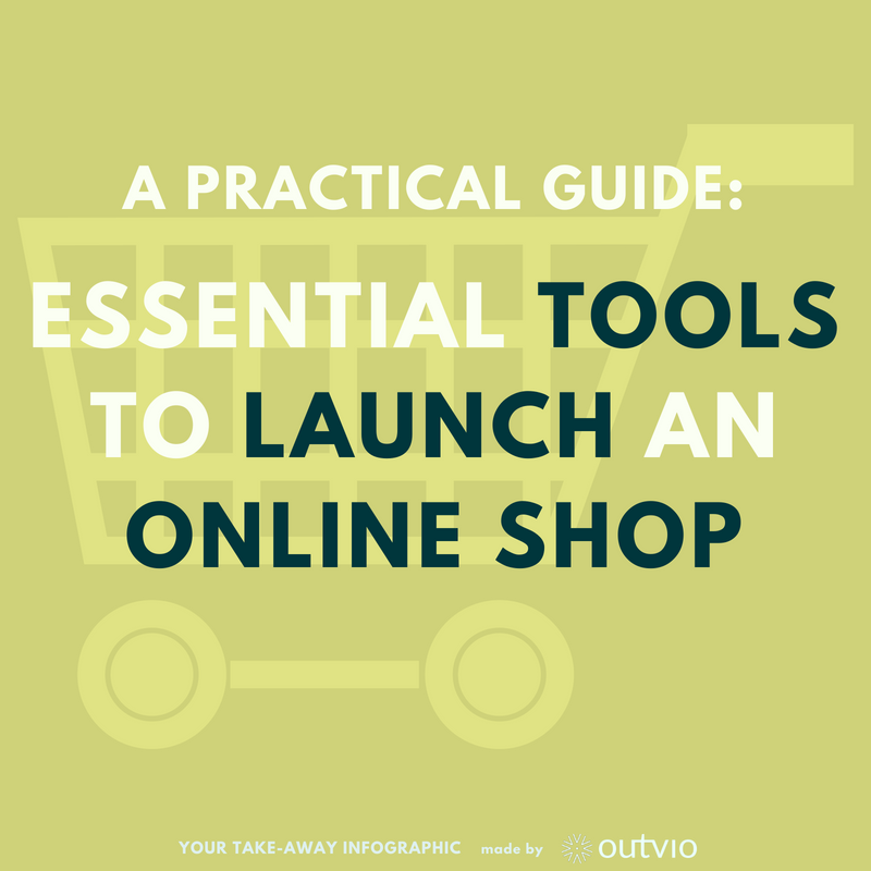 8 step practical guide: essential tools to launch your online shop