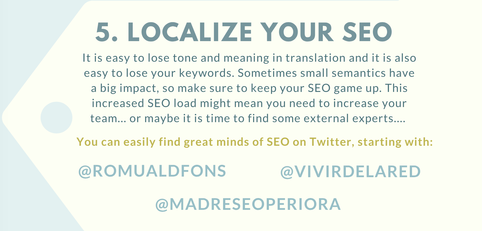 Localize your SEO