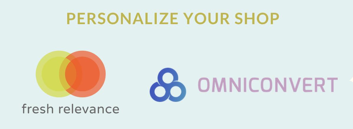 Personalize your online shop