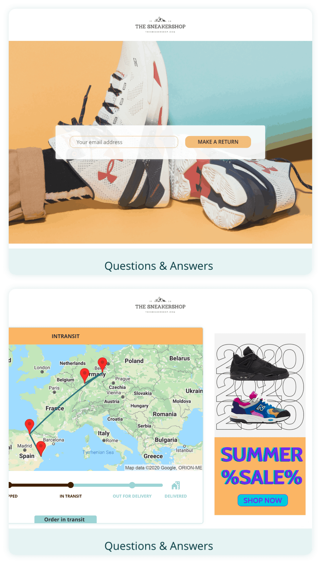 Software feature highlight - Outvio - eCommerce fulfilment app for high growth eCommerce stores