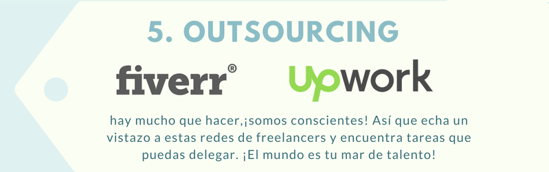 Herramientas ecommerce de outsourcing.