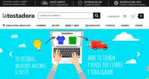 LaTostadora.es site capture