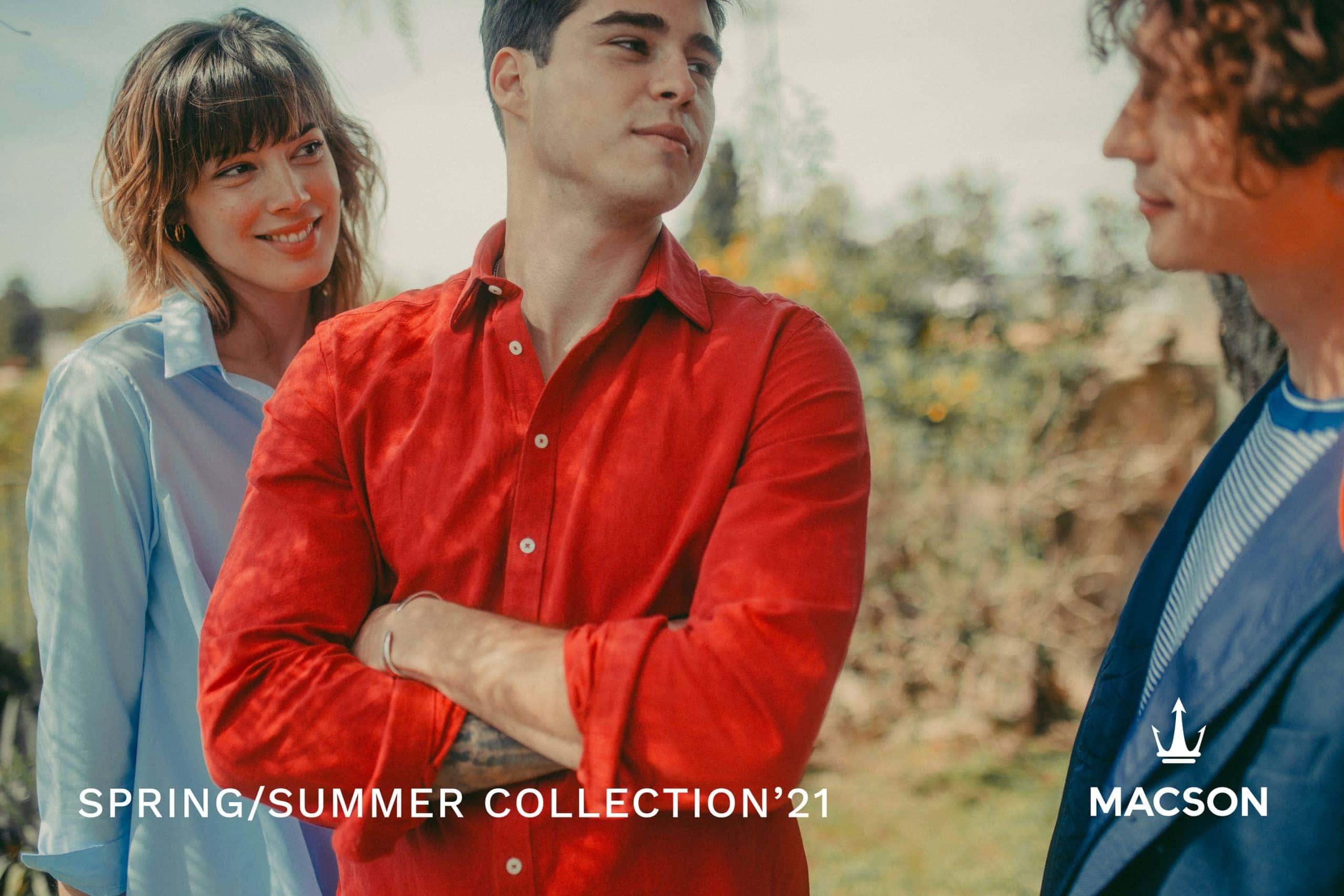 Modelo del ecommerce de moda Macson.