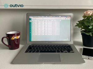 interfaz de outvio herramienta para gestionar envíos de tiendas online